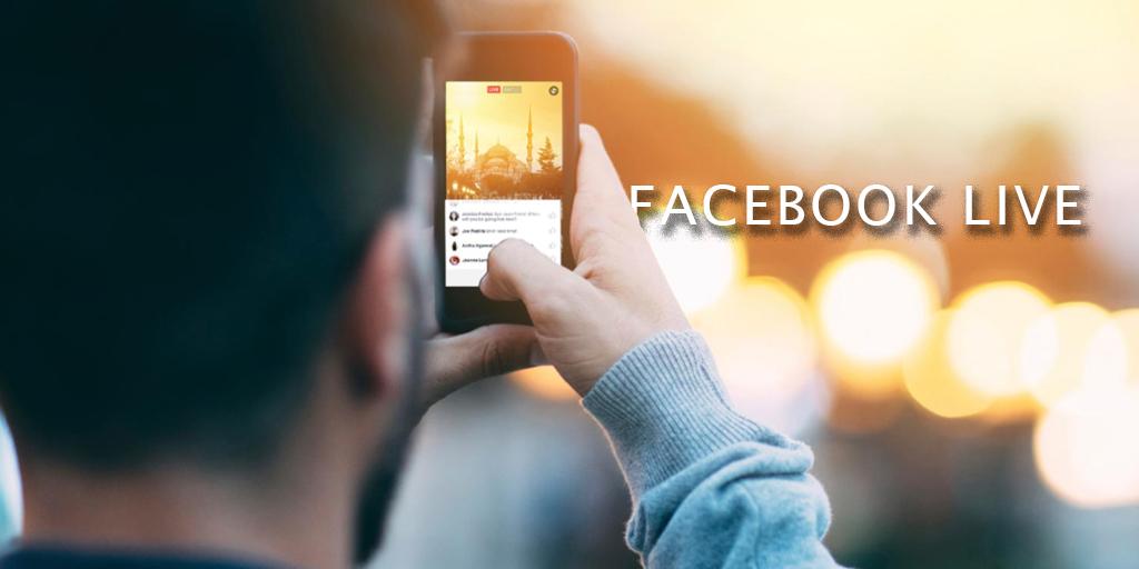 Facebook Live en eventos.
